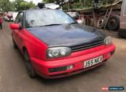 1995 Volkswagen Golf Mk3 VR6 2.8 Petrol 3dr convertible for Sale