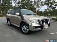 2008 Toyota Landcruiser Auto V8 Diesel GXL Beige Automatic 6sp A Wagon for Sale
