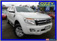 2014 Ford Ranger PX XLT 3.2 (4x4) White Automatic 6sp A Dual Cab Utility for Sale