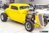 Classic 1934 Ford Hot Rod . Yellow Automatic A for Sale
