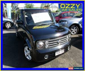 Classic 2005 Nissan Cube Z11 Black Automatic 4sp A Wagon for Sale