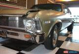 "Classic monaro ,torana , 68 chev nova  """"GENUINE SURVIVOR IN FACTORY PAINT""""   for Sale"