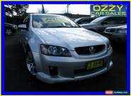 2010 Holden Commodore VE MY10 SV6 Silver Automatic 6sp A Sedan for Sale