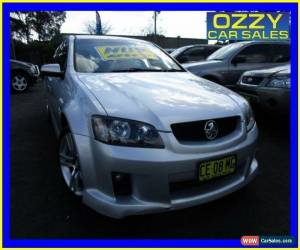 Classic 2010 Holden Commodore VE MY10 SV6 Silver Automatic 6sp A Sedan for Sale