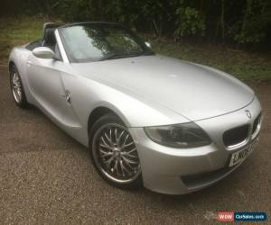 Classic BMW Z4 2.0 i 2006 SE Roadster Silver for Sale