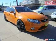 2008 Ford Falcon FG XR6 Orange Automatic A Sedan for Sale