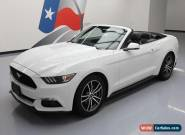 2017 Ford Mustang EcoBoost Premium Convertible 2-Door for Sale