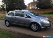 2007-56 VAUXHALL CORSA 1.2 CLUB 3 DOOR SILVER - LOW MILES for Sale
