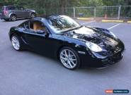2007 Porsche Cayman 987 Basalt Black Manual 5sp M Coupe for Sale