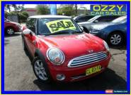 2008 Mini Cooper R56 Chilli Red Manual 6sp M Hatchback for Sale