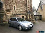 2004/54 Ford Focus 1.8i 16v Ghia 5 Door Hatchback Blue for Sale
