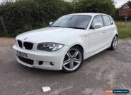 Bmw 123D M Sport White 2010. 5 door for Sale