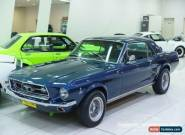 1967 Ford Mustang Nightmist Blue Manual 3sp M Hardtop for Sale