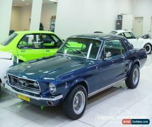 Classic 1967 Ford Mustang Nightmist Blue Manual 3sp M Hardtop for Sale