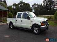 2002 Ford F250 Dual Cab 5.4lt V8 Petrol for Sale