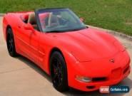 2000 Chevrolet Corvette Convertible for Sale