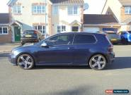 2015 15 VOLKSWAGEN GOLF R BLUE LOW MILES SWAP PX M3 S3 GTD GTI R32 AMG M5 K1 A45 for Sale