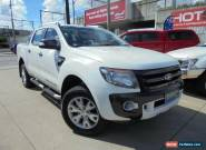 2012 Ford Ranger PX Wildtrak White Automatic A 4D Utility for Sale