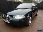 2001 Volkswagen Passat 1.9TDI PD Auto Estate Diesel for Sale