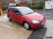 2004 VAUXHALL CORSA LIFE 16V RED *12 Months MOT* 3 Months Tax* Service History* for Sale