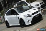 Classic 2010 Ford Focus LV RS White Manual 6sp M Hatchback for Sale
