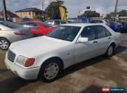 1993 Mercedes-Benz 400 SE Automatic 4sp A Sedan for Sale