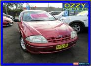 1999 Ford Falcon AU Classic Red Automatic 4sp A Sedan for Sale