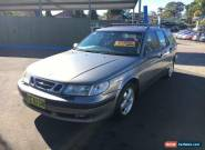 2001 Saab 9-5 SE Grey Automatic A Wagon for Sale