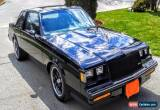 Classic Buick: Grand National for Sale