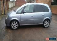 2008 VAUXHALL MERIVA BREEZE PLUS SILVER Drives perfect 60k no faults bargain for Sale