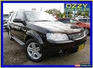 2007 Ford Territory SY Ghia (4x4) Black Automatic 6sp A Wagon for Sale