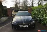 Classic 2012 BMW 520D M SPORT AUTO BLACK for Sale