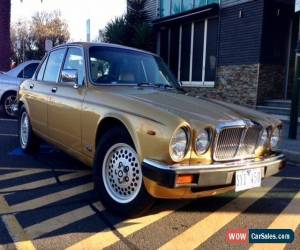 Classic Jaguar XJ6 4.2 5 speed Manual Aust delivered 1983 series 3  Gold for Sale