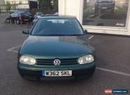 VW GOLF GTI 2.0 PETROL SPARES OR REPAIRS  for Sale