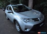 RAV4 Turbo Diesel AUTO All wheel drive, Silver Toyota LATE 2014 for Sale