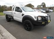 2012 Ford Ranger PX XL 3.2 (4x4) White Manual 6sp M Cab Chassis for Sale