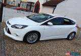 Classic mk3 ford focus zetec s 2012 white 1.6 diesel used car for Sale