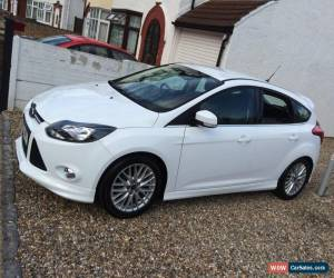 Mk3 Ford Focus Zetec S 2012 White 1 6 Diesel Used Car