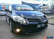 2010 Toyota Corolla ZRE152R MY10 Levin SX Black Automatic 4sp A Hatchback for Sale