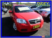2006 Holden Barina TK Red Manual 5sp M Sedan for Sale