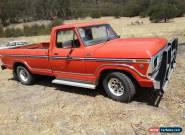 Ford F100 1978 Long Wheelbase.  for Sale