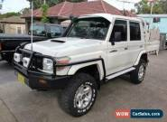 2012 Toyota Landcruiser VDJ79R MY12 Update Workmate (4x4) White Manual 5sp M for Sale