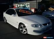2002 Holden Commodore VX S White Manual M Sedan for Sale