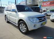 2011 Mitsubishi Pajero NW MY12 Platinum White Automatic 5sp A Wagon for Sale