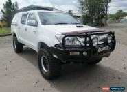 2005 Toyota Hilux KUN26R MY05 SR White Manual 5sp M 4D UTILITY for Sale