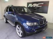 2006 BMW X5 3.0 d BluePerformance Le Mans Blue Sport 5dr for Sale