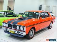 1971 Ford Falcon XY GT Vermillion Red Manual 4sp M Sedan for Sale