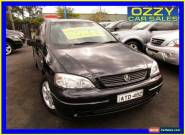 2005 Holden Astra TS Classic Black Automatic 4sp A Sedan for Sale