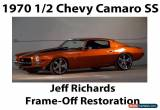 Classic 1970 Chevrolet Camaro 2-Door for Sale