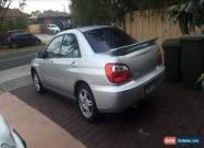 2004 subaru Impreza for Sale